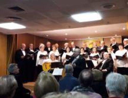 El coro «Las Almenas», de Puerto de Vega, triunfa en Madrid