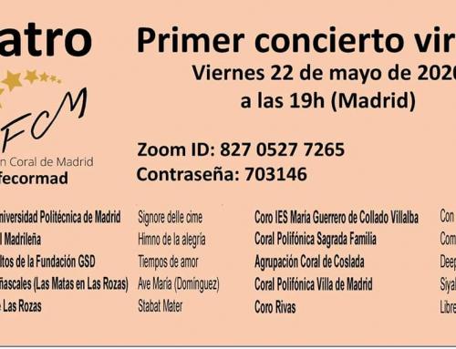 Primer concierto virtual